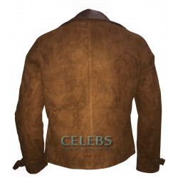 Allied Brad Pitt (Max Vatan) Leather Jacket
