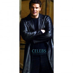 Angel David Boreanaz Black Long Coat