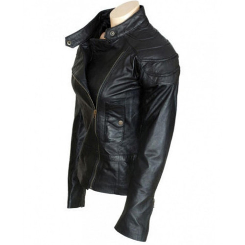 Wanted Movie Angelina Jolie (Fox) Leather Jacket