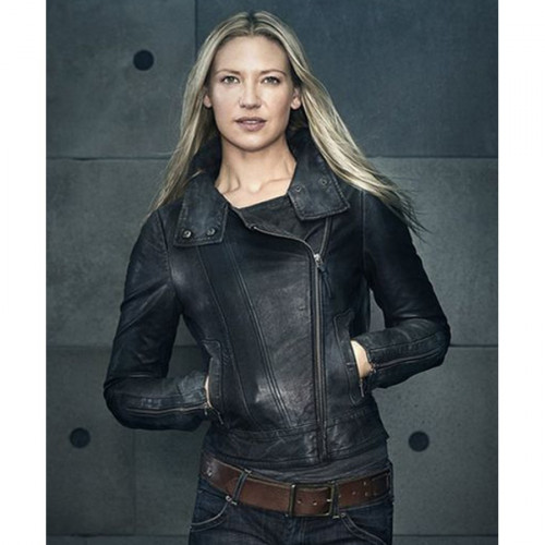 Anna Torv Fringe Olivia Dunham Leather Jacket