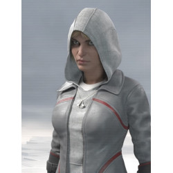 AC Syndicate Galina Voronina Cosplay Leather Jacket