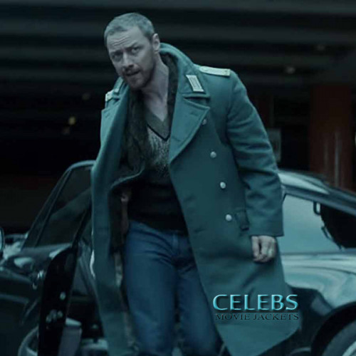Atomic Blonde James McAvoy Black Coat