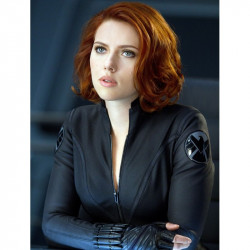 Avengers Age Of Ultron Black Widow Jacket