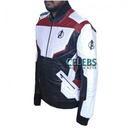 Avengers Endgame Quantum Realm Leather Jacket
