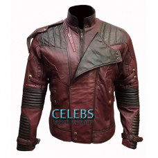 Avengers Infinity War Waxed Star Lord Jacket