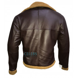 B3 Aviator Sheepskin Leather Bomber Jacket