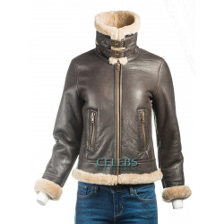 Women's B3 Sheepskin Bomber Jacket