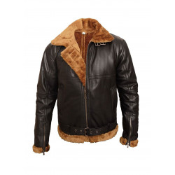 B3 Shearling Sheepskin Bomber Jacket