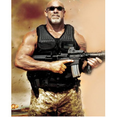 Bill Goldberg Check Point TJ Leather Vest