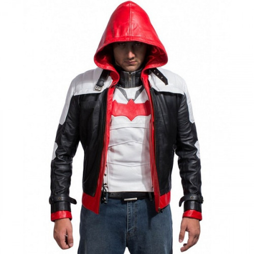 Arkham Knight Batman Red Hood Jacket And Vest