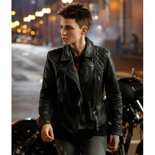 Batwoman Kate Kane Leather Jacket