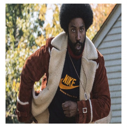 BlacKkKlansman Ron Stallworth Shearling Jacket