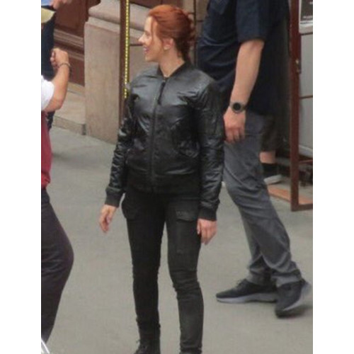 Black Widow 2020 Bomber Jacket