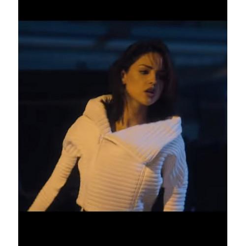 Bloodshot Eiza Gonzalez White Jacket