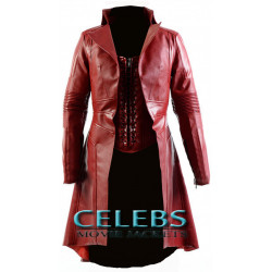 Captain America Civil War Scarlet Witch Coat