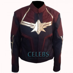 Captain Marvel Jacket 2019