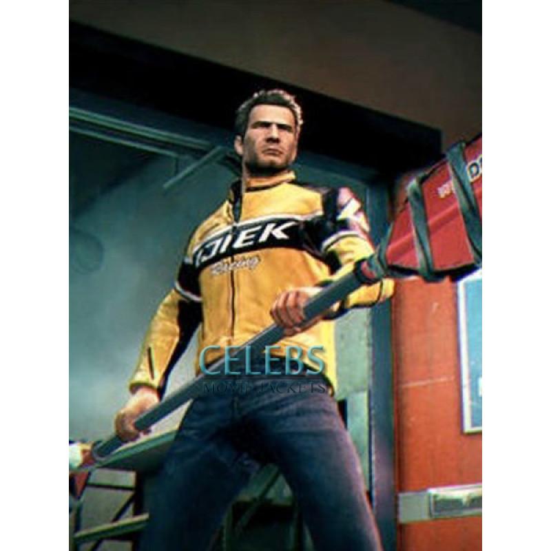 Chuck Greene Dead Rising 2 Leather Jacket Cmj