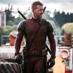 Ryan Reynolds Deadpool 2 Motorcycle Red and Black Jacket
