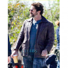 Den Of Thieves Gerard Butler Leather Jacket