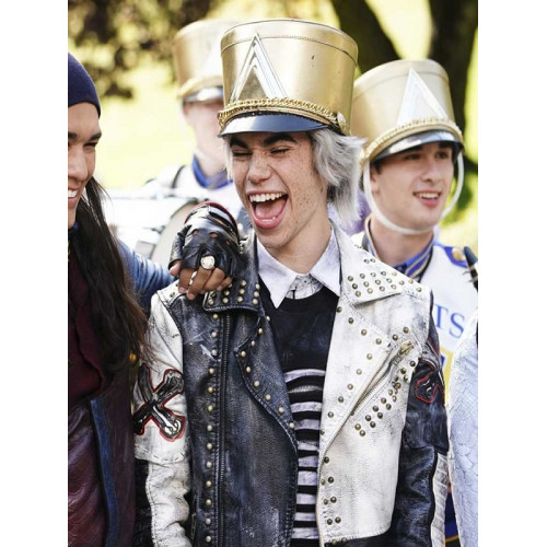 Descendants 3 Carlos Studded Leather Jacket