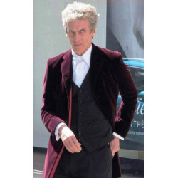 Peter Capaldi Doctor Who Maroon Coat