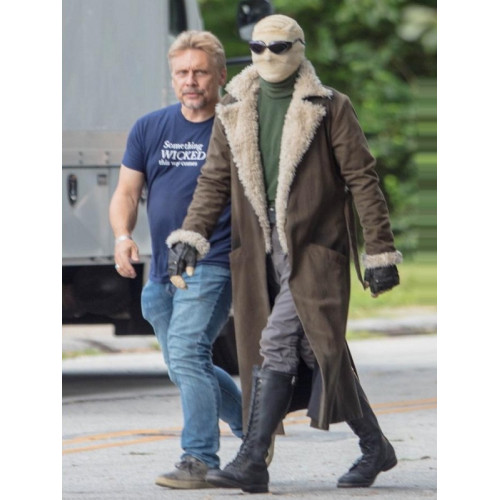 Matt Bomer Doom Patrol Negative Man Coat