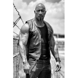 The Fate Of The Furious Dwayne Johnson Leather Vest