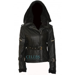 Once Upon A Time Emma Swan Black Hoodie Jacket