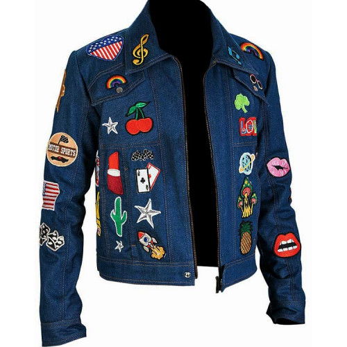 Taron Egerton Rocketman Denim Jacket
