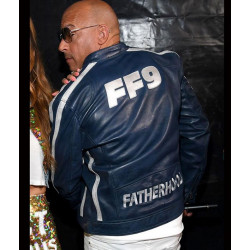The Road To F9 Concert Vin Diesel Leather Jacket