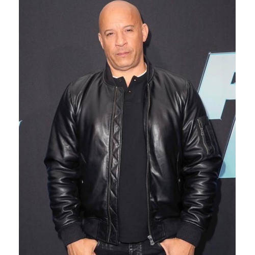Fast And Furious 9 Vin Diesel Leather Jacket - Celebs ...