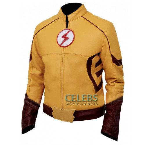 The Flash Season 3 Kid Flash Jacket