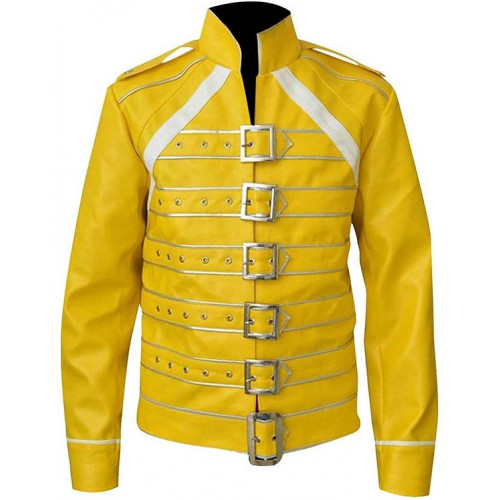 Freddie Mercury Concert Queen Yellow Jacket