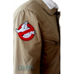 Ghostbusters Fur Cotton Jacket For Men's