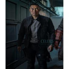 Hellboy Ben Daimio Black Jacket