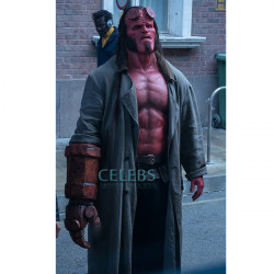 Hellboy Ron Perlman Leather Coat