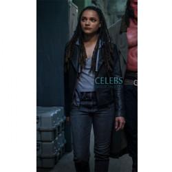 Hellboy Sasha Lane Leather Jacket