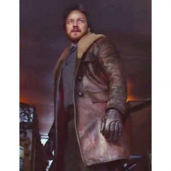 Lord Asriel His Dark Materials Leather Coat