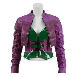Injustice 2 Game Harley Quinn Purple Jacket