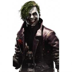 Injustice 2 Joker Leather Coat