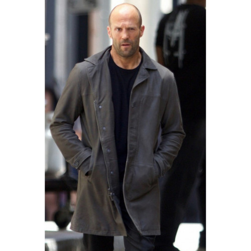 The Fast and Furious 8 Jason Statham Leather Coat