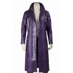 Jared Leto Crocodile Joker Coat