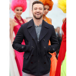 Justin Timberlake Double Breasted Jacket