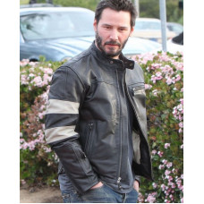 Keanu Reeves Motorcycle Leather Jacket