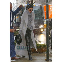 Kendall Jenner Street Fashion Long Coat