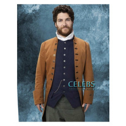 Making History Adam Pally (Dan) Brown Coat