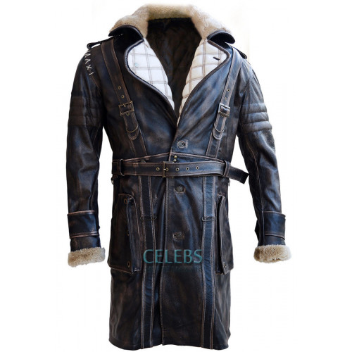 Fallout 4 Elder Maxson Leather Battle Coat