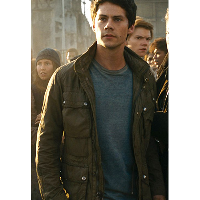 Maze Runner The Death Cure Dylan O Brien Thomas Jacket Cmj