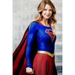 Melissa Benoist Supergirl Leather Jacket