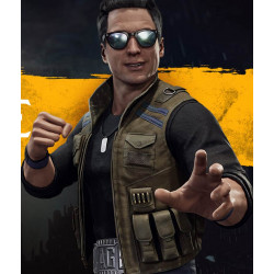 Video Game Mortal Kombat 11 Johnny Cage Vest